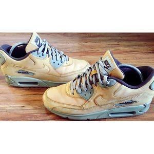 Nike Air Max 90 Winter PRM 683282 700 {Wheat}